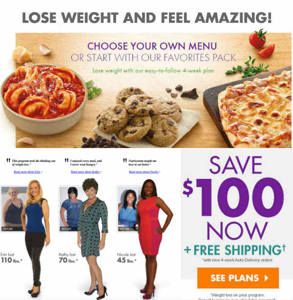Nutrisystem Diet Plan to Lose Weight Fast - Get $100-Off Coupons 2018