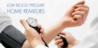 Low Blood Pressure Symptoms - Home Remedies To Cure Low Blood Pressure
